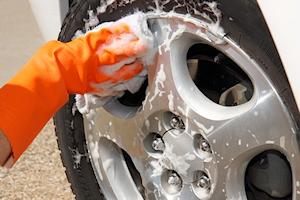 wheel-cleaning